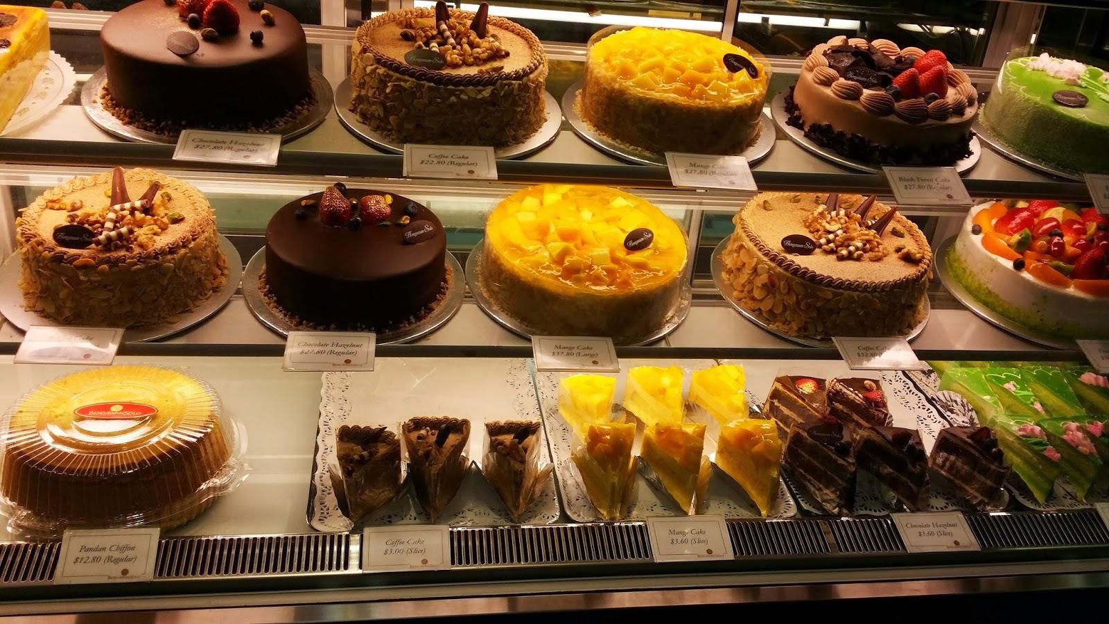 Bengawan Solo Mango Cake