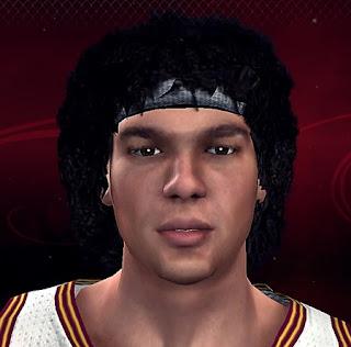 NBA 2K13 Anderson Varejão Cyberface Mod
