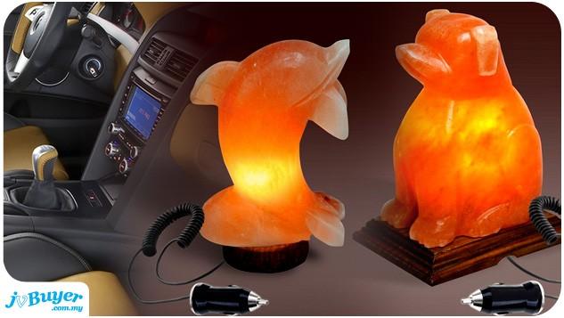 Salt Lamps Positive Ions : Car Salt Lamp With Natural Ion Generator ~ JvBuyer