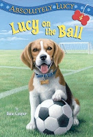 bookcover of  LUCY ON THE BALL (Absolutely Lucy, #4) by Ilene Cooper