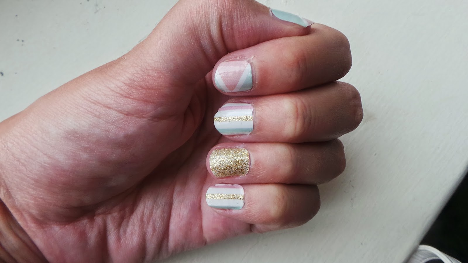 Ramblings of a Makeup and Shopping Addict: Candies Nail Sticker Review