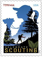 girl scout forever stamp