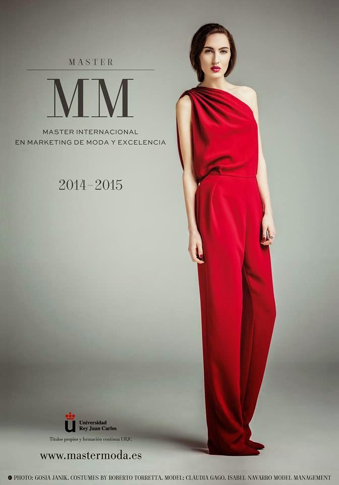 Last poster publicized for master internacional en for Master moda
