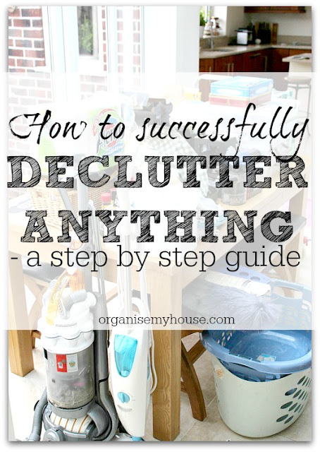 How to Successfully Declutter Anything in your Home