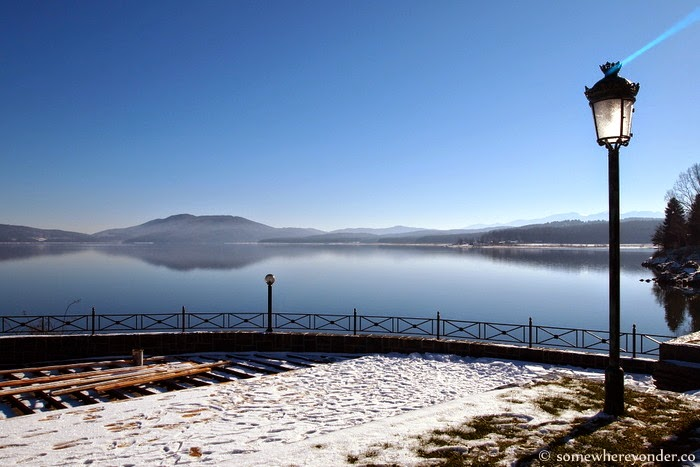 Lake Iskar in winter - Bulgaria
