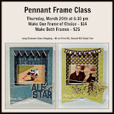 Order Your Pennant Frame Class Today!