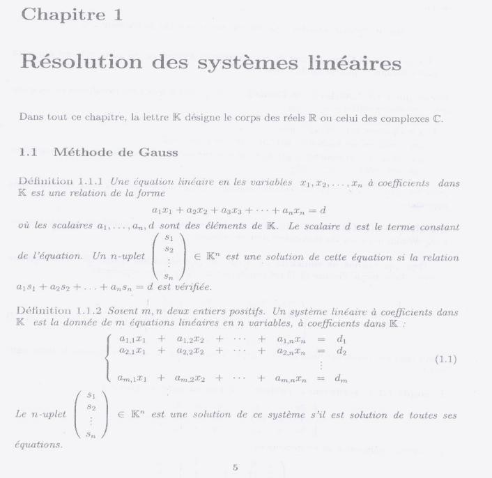 Cours Algèbre 2 SMPC S2