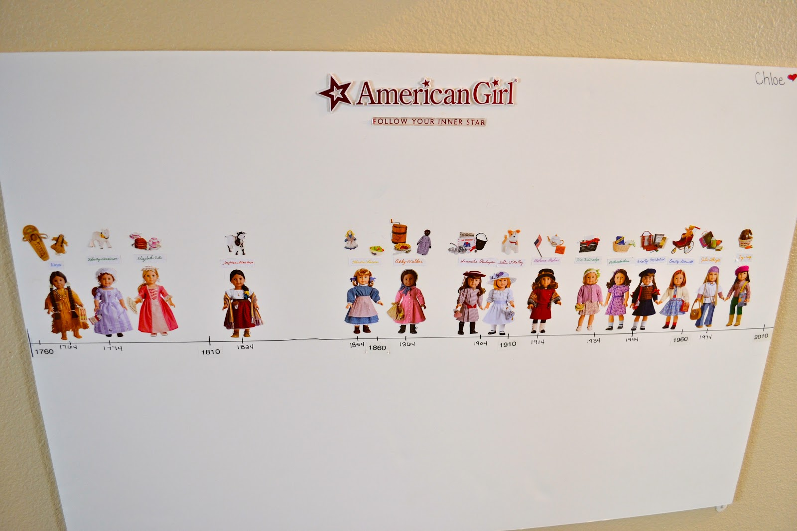 Sadly we are missing marie grace amp cecile i hope american girl comes