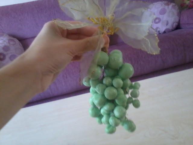 sabundan meyve yapımı