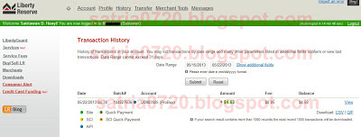 My payment proof