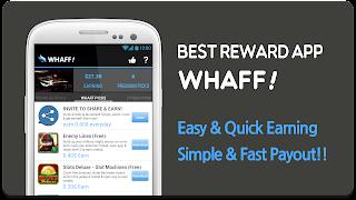 Whaff spam - Cara Mengambil Pembayaran dari WHAFF (Paypal Withdraw)