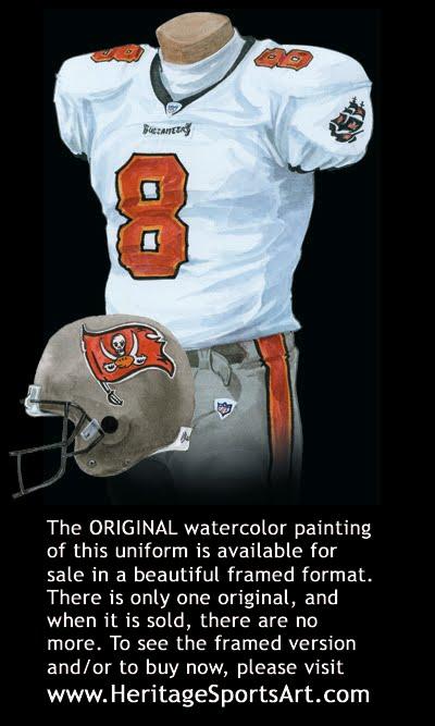 Tampa Bay Buccaneers Uniform and Team History | Heritage Uniforms