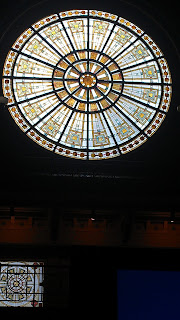 stained glass window union station indianapolis sheraton