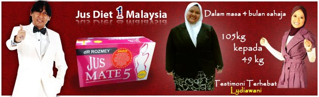 Jus Diet No 1 Malaysia