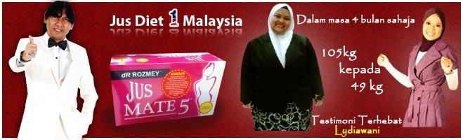 Jus Diet No 1 Malaysia