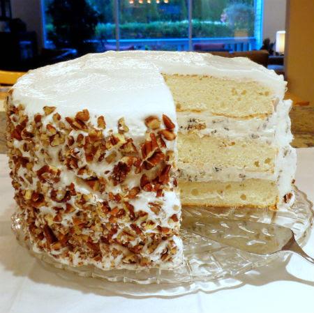 One Perfect Bite: Lady Baltimore Cake