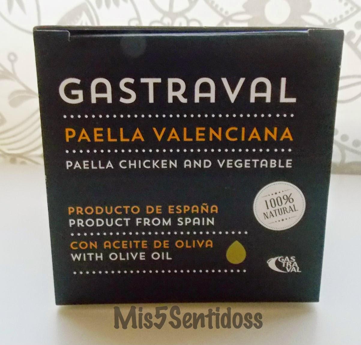 Degustabox julio 2014 Gastraval