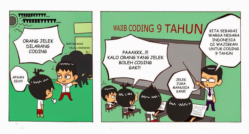 Wajib Coding 9 Tahun
