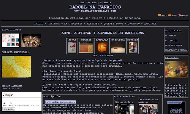 Artistas y artesanos de Barcelona