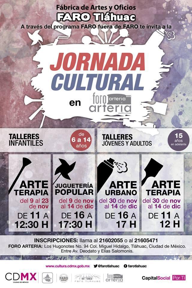 Talleres/Arte terapia/Juguetería Popular/Arte Urbano