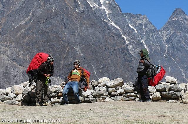 Sherpas-porteadores