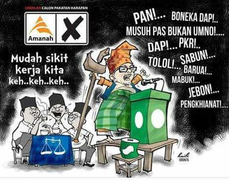"KENAPA PAS SUDAH MATI ! YANG ADA SEKARANG ADALAH "" PARTI 2H ( HADI HASHIM ) !!"