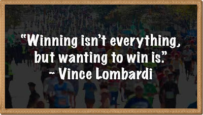 winning is not everthings, menang bukan segalanya