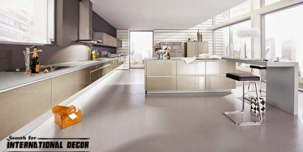kitchen in high-tech style