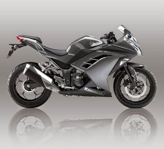 New Ninja 250 FI Abu abu