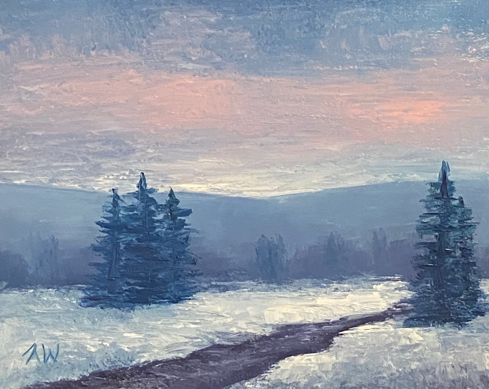 """Winter Blues"""