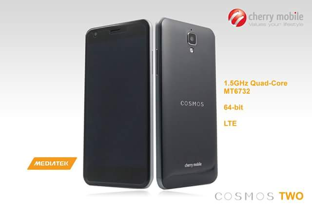 Cherry Mobile Introduces Cosmos Two, Dual LTE 64-bit Android for P5,499