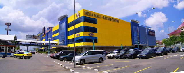 Mega Mall Batam Centre during the day