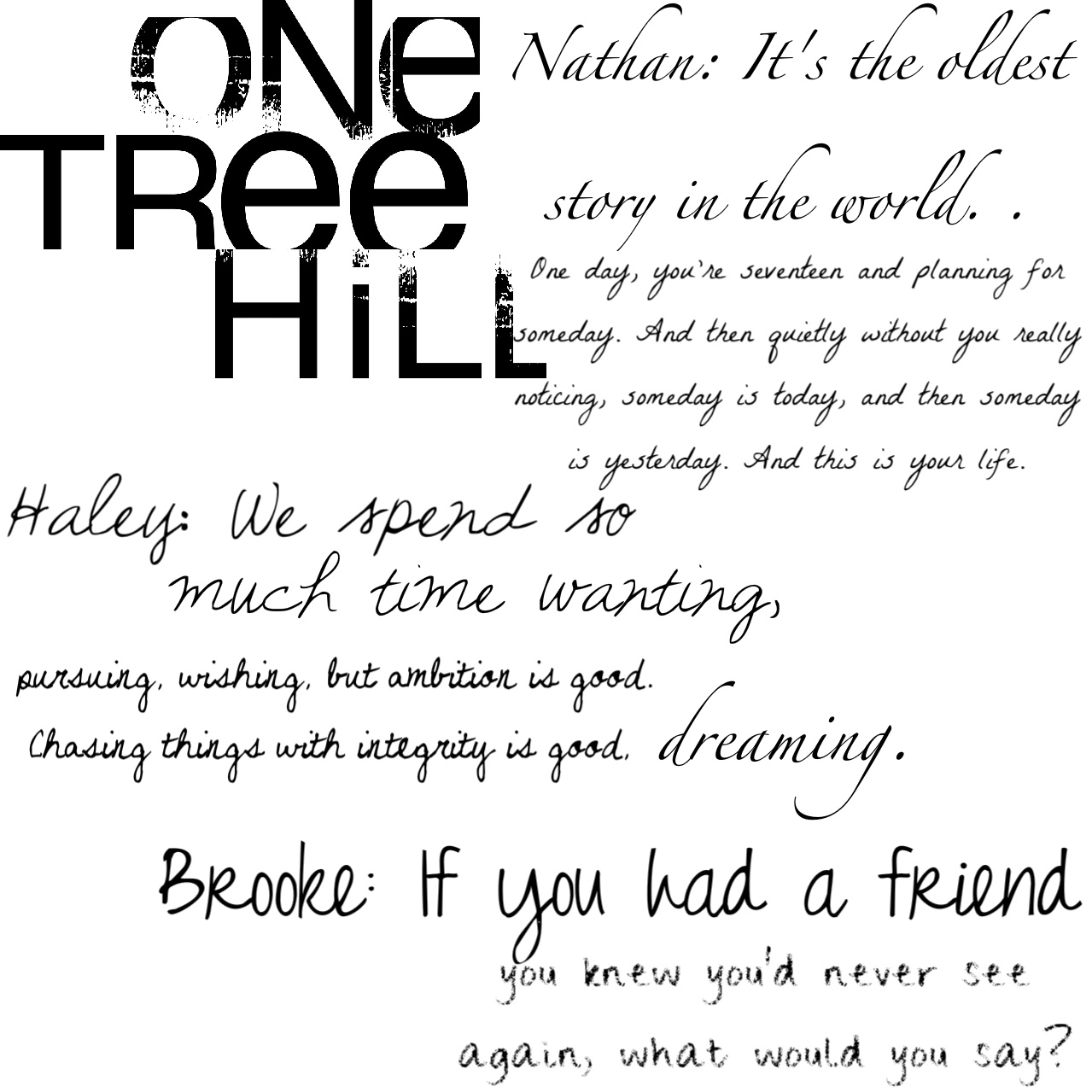 Family One Tree Hill Q...
