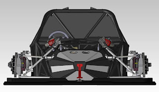 Radical RXC (2013 Rendering) Chassis Front
