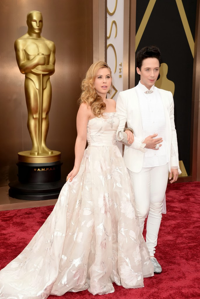 Johnny Weir's Louis Leeman Shoes - 86th Annual Academy Awards