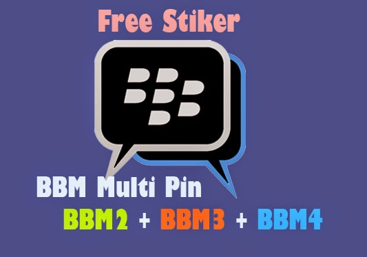 Download BBM Multi Pin(BBM2+BBM3+BBM4) v2.6.0.28 Official Free Stiker