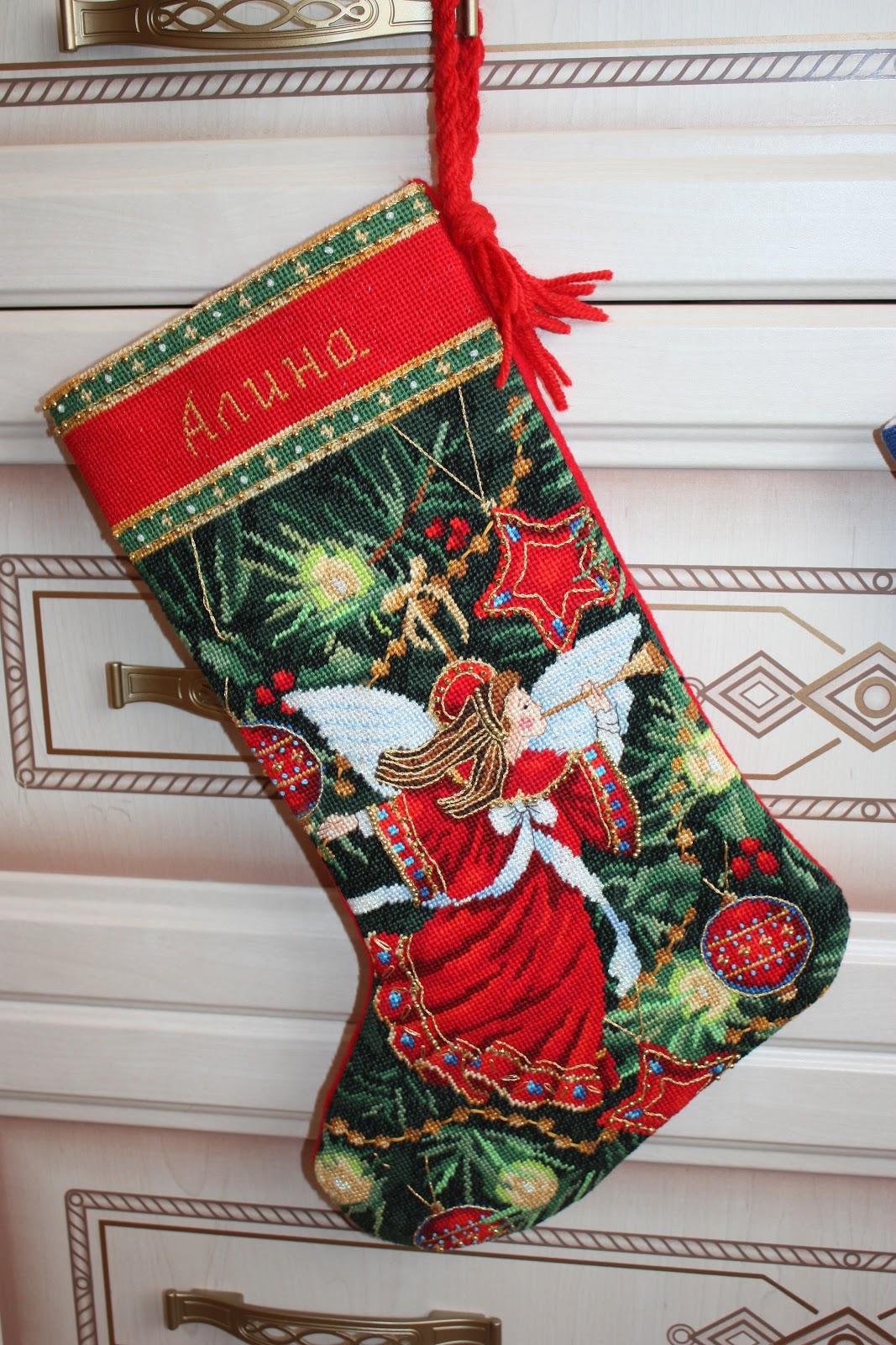 Новогодние сапожки для подарков своими руками фото 779