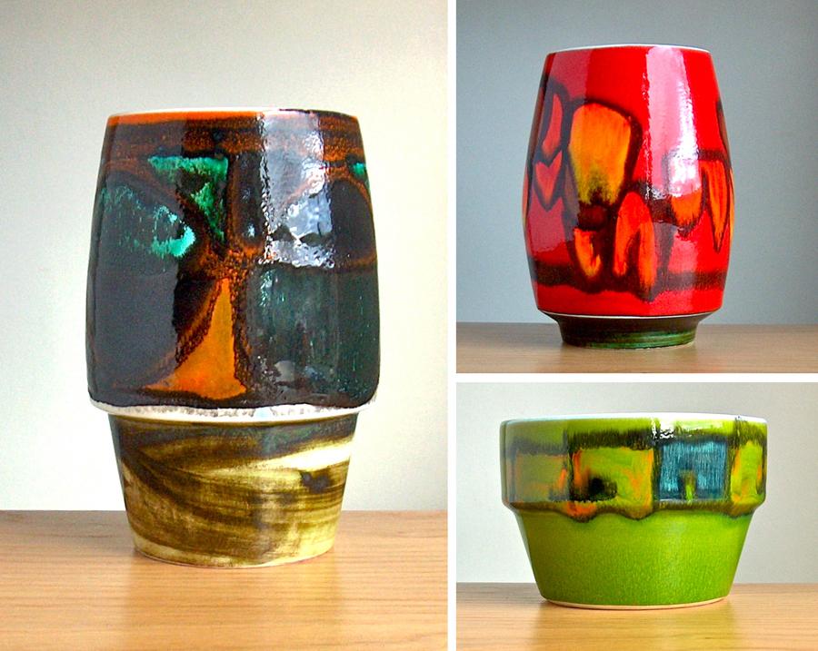 Potshots Poole Pottery Delphis Vases Not Giving Up