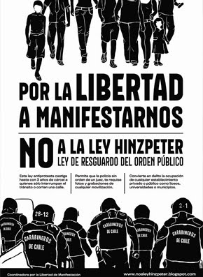 No a la Ley Hinzpeter