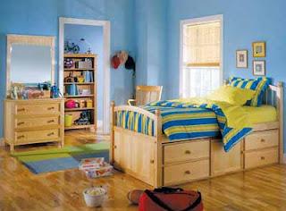 Decoration et rangements chambre a coucher pour enfant