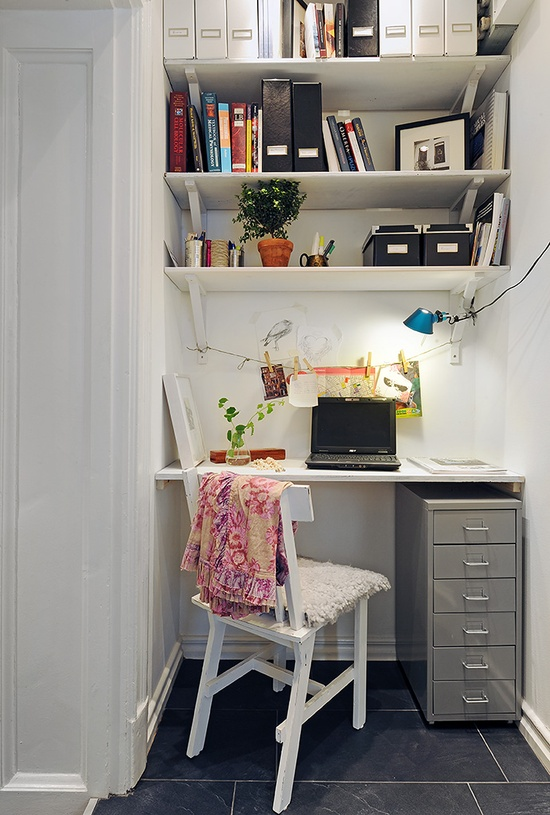 15 Inspiring Small Office Spaces And What Iu0027m Working On   Yellow Bliss Road