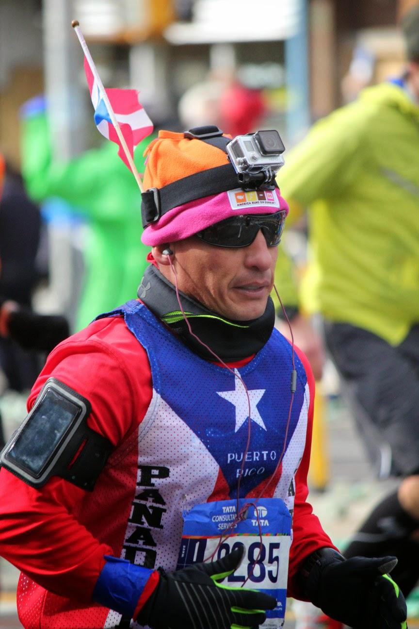 El Maratón de la Ciudad de Nueva York 2014 - Puerto Rico