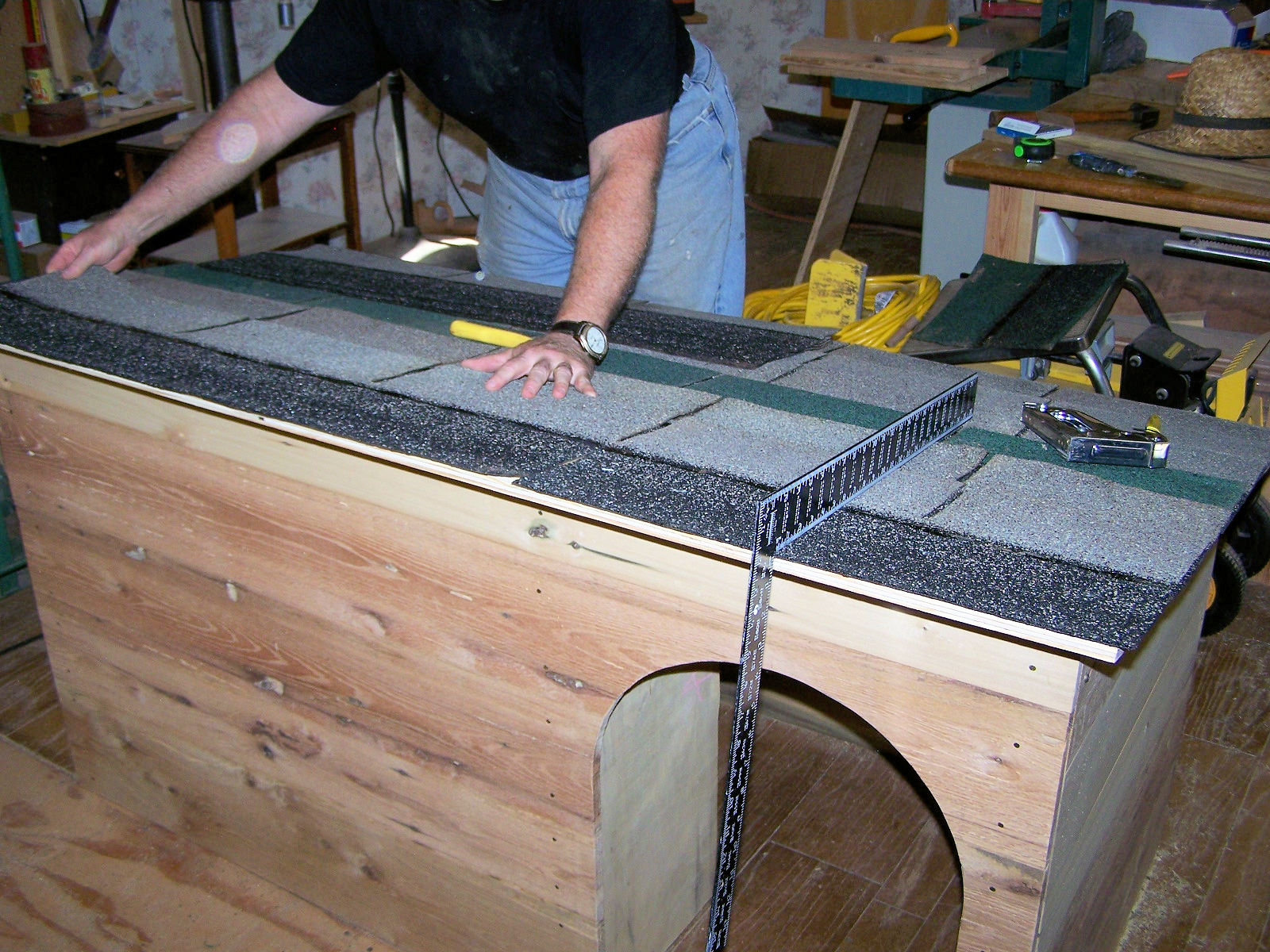 In the shop notes building a cabin for cochise for Cochise floor covering
