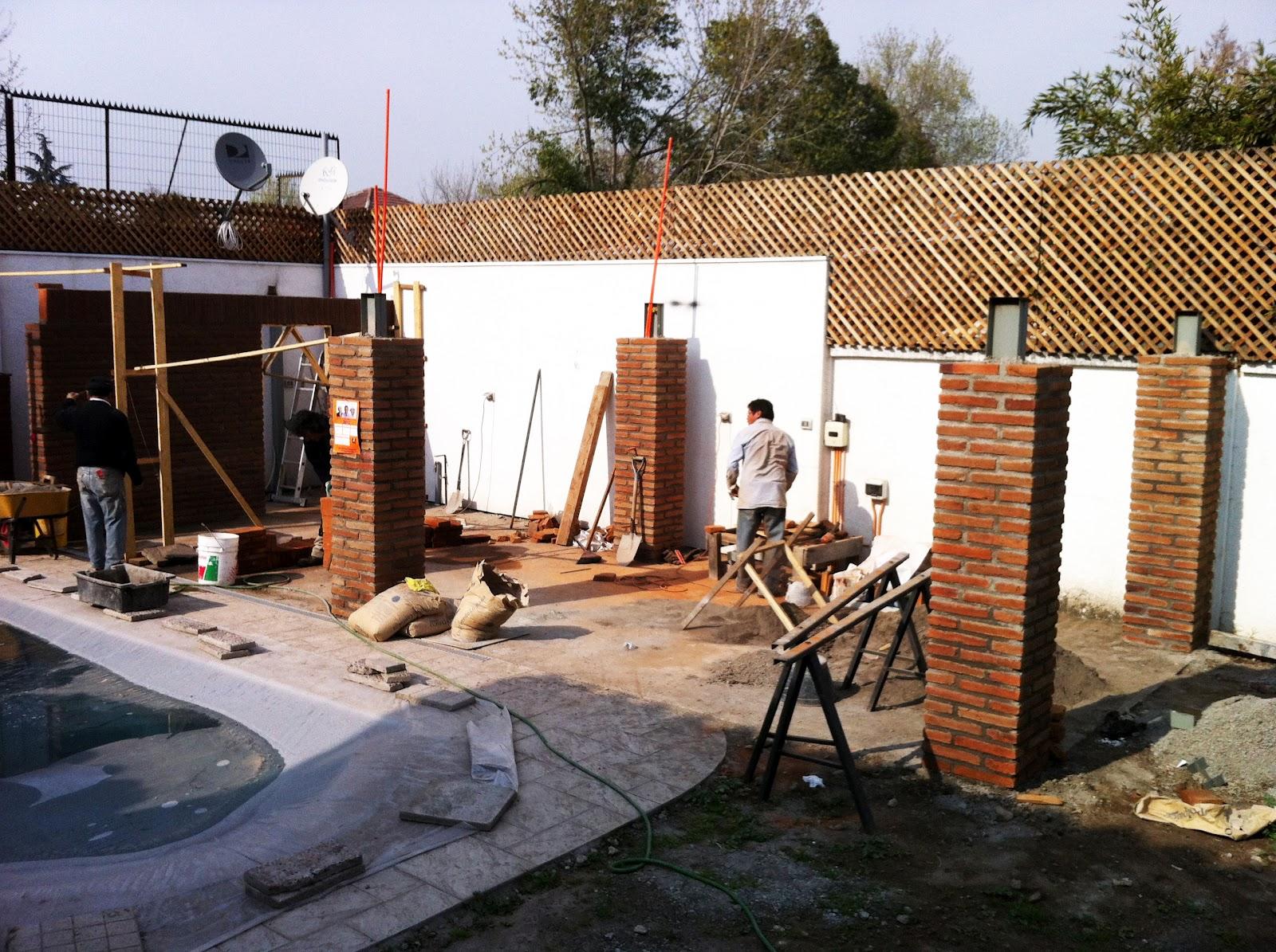 obra quincho las luciernagas se comenzó la construcción del quincho ...