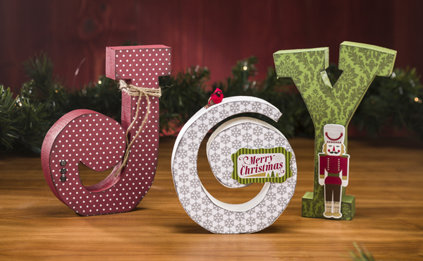 Echo Park Wood Joy Letter Set @craftsavvy @echoparkpaper #craftwarehouse #holiday #diy