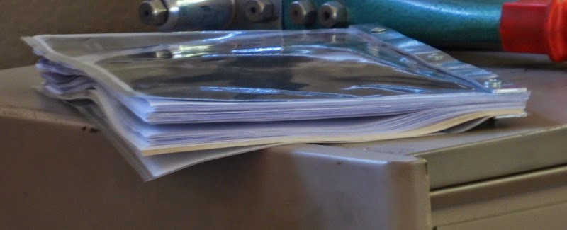 warped pages because of hole punching error