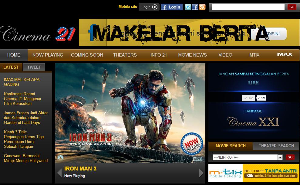 bioskop xxi terbaru 21 cineplex