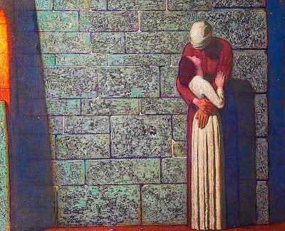 El comiat (Frederick Cayley Robinson)