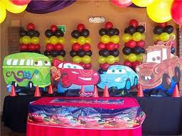 DECORACIONES CON CARS 2 Decoracionesparafiestasinfantiles Blogspot