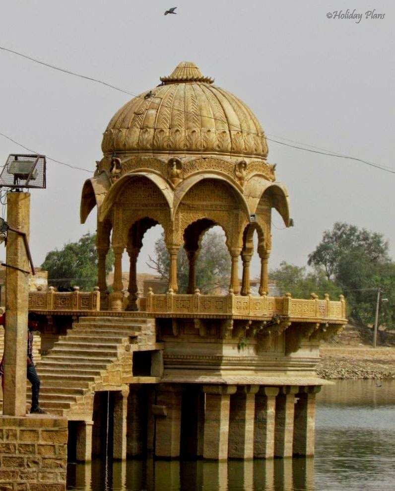 Chhatri in the lake